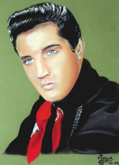 Elvis Presley by angie